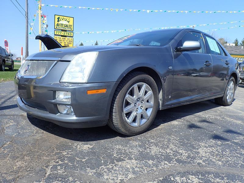 2007 CADILLAC STS gray 0 miles VIN 1G6DW677870108482