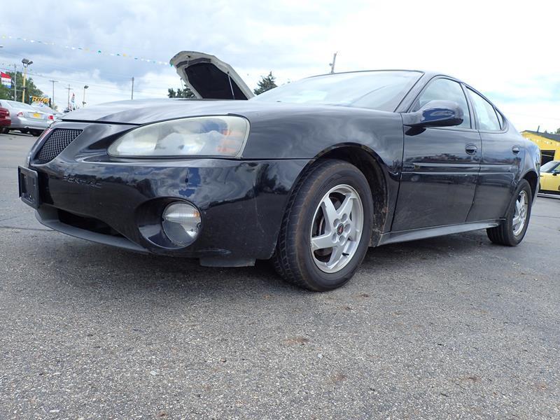 2004 PONTIAC GRAND PRIX GT2 4DR SEDAN black none 161700 miles VIN 2G2WS522741134471