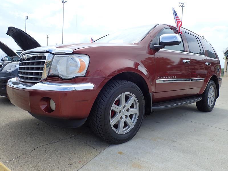 2007 CHRYSLER ASPEN LIMITED 4X4 4DR SUV burgundy none 120000 miles VIN 1A8HW58207F527542