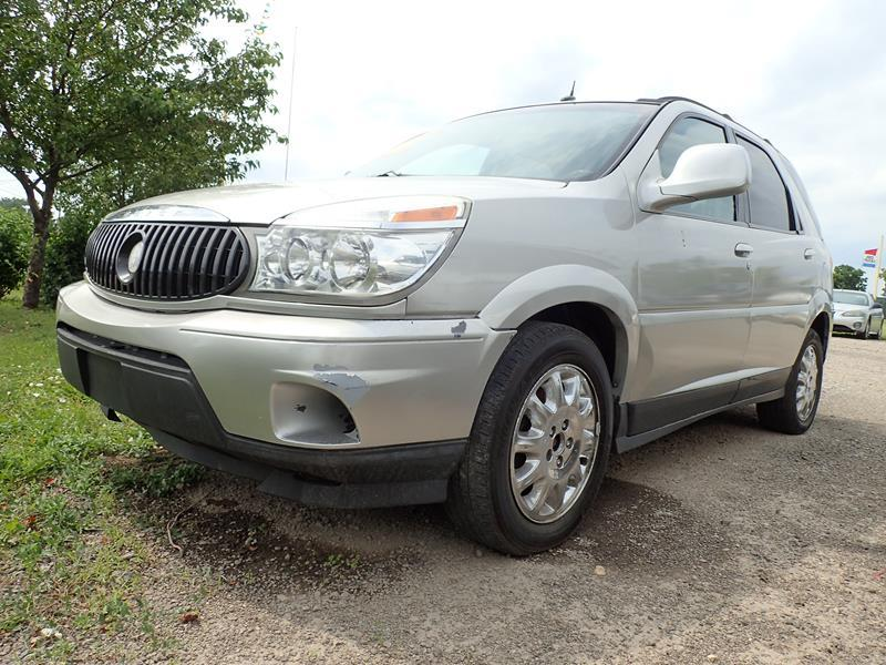 2006 BUICK RENDEZVOUS silver none 153400 miles VIN 3G5DB03L16S601458