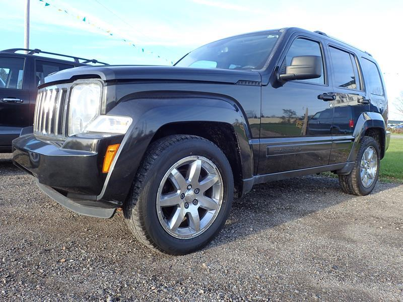 2009 JEEP LIBERTY LIMITED 4X4 4DR SUV black none 141197 miles VIN 1J8GN58K99W522616