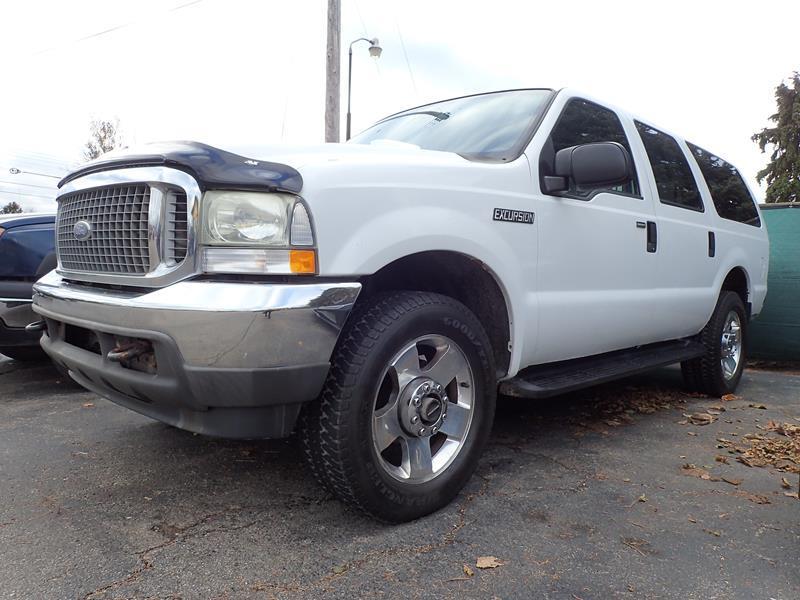 2003 FORD EXCURSION XLT 4DR 4WD SUV white none 102839 miles VIN 1fmnu41l13eb15719