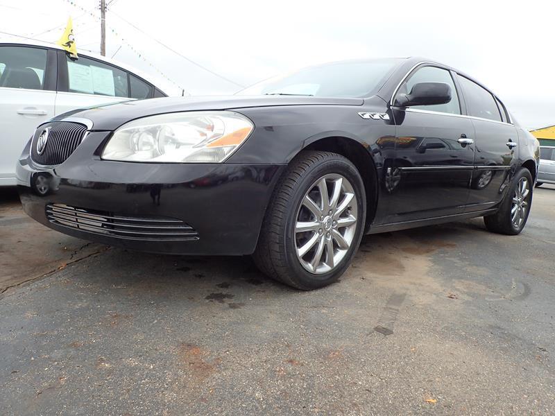 2007 BUICK LUCERNE CXL V6 4DR SEDAN black none 92000 miles VIN 1G4HD57237U209825