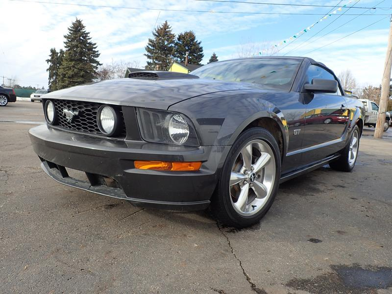 2007 FORD MUSTANG grey none 161544 miles VIN 1ZVHT85H575344554