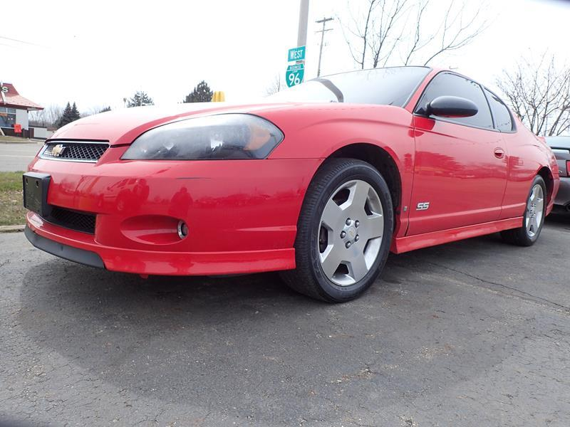 2006 CHEVROLET MONTE CARLO SS 2DR COUPE red none 149375 miles VIN 2G1WL15C369348960