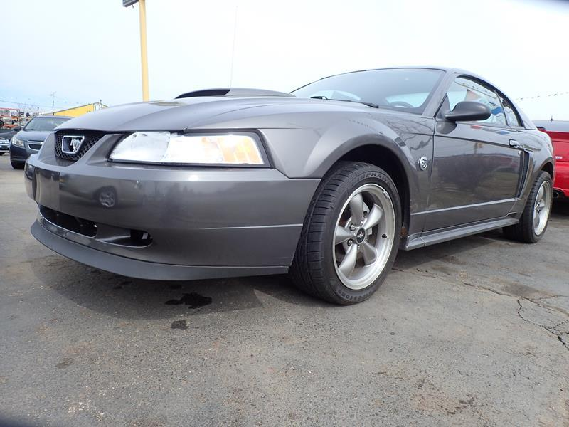 2004 FORD MUSTANG GT DELUXE 2DR FASTBACK grey none 156548 miles VIN 1FAFP42X74F169318