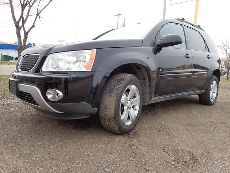 2006 PONTIAC TORRENT BASE AWD 4DR SUV black none 116201 miles VIN 2CKDL73F166205126