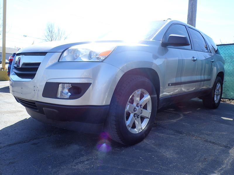 2008 SATURN OUTLOOK XE 4DR SUV silver none 122432 miles VIN 5GZER13718J139407