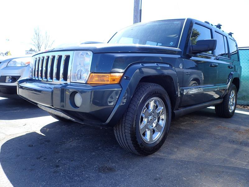 2006 JEEP COMMANDER LIMITED 4DR SUV 4WD darkgreen none 160770 miles VIN 1J8HG58N86C106398