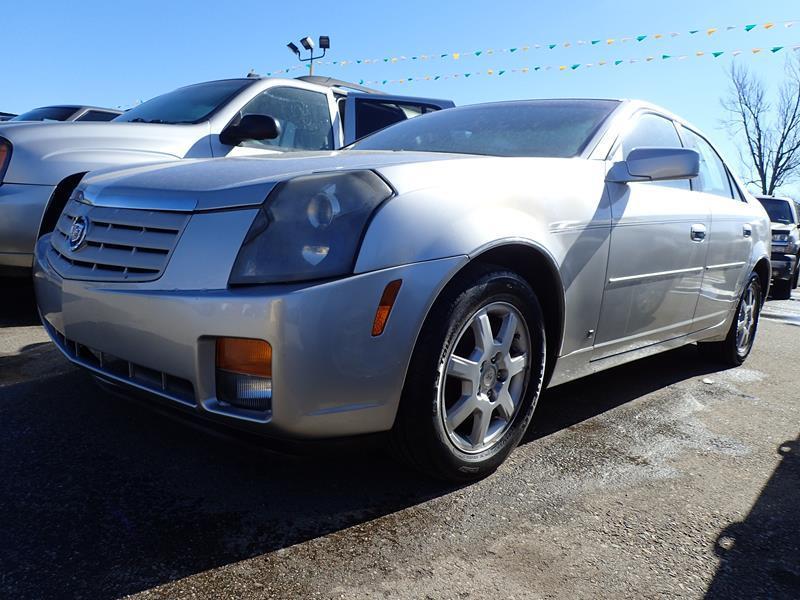 2007 CADILLAC CTS BASE 4DR SEDAN 28L V6 silver none 200000 miles VIN 1G6DM57T370122982