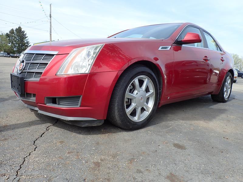2009 CADILLAC CTS 36L V6 AWD 4DR SEDAN W 1SA red none 134000 miles VIN 1g6dg577690102335