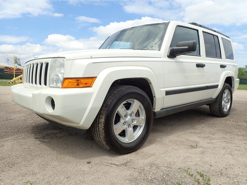 2006 JEEP COMMANDER BASE 4DR SUV 4WD white none 174547 miles VIN 1J8HG48K26C263635