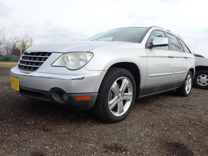 2007 CHRYSLER PACIFICA TOURING 4DR CROSSOVER silver none 0 miles VIN 2A8GM68X37R263731