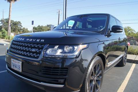 2016 Land Rover Range Rover for sale in Carmichael, CA