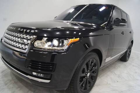2016 Land Rover Range Rover for sale at Sacramento Luxury Motors in Carmichael CA