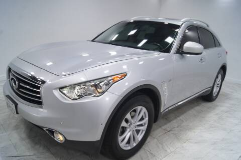 2016 Infiniti QX70 for sale at Sacramento Luxury Motors in Carmichael CA