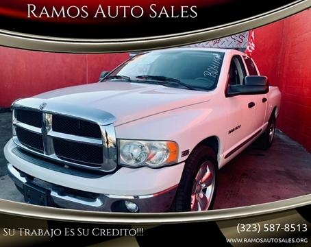 Ramos Auto Sales >> Ramos Auto Sales Los Angeles Ca Inventory Listings