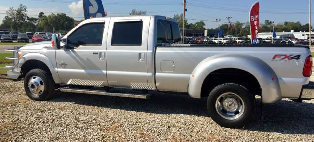 2012 Ford F-350 Super Duty 4x4 Lariat 4dr Crew Cab 8 ft. LB DRW Pickup - Sour Lake TX
