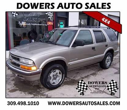 2002 Chevrolet Blazer for sale in Heyworth, IL