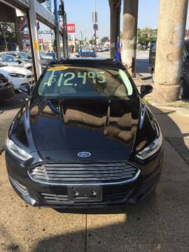 2016 Ford Fusion for sale in Woodside, NY