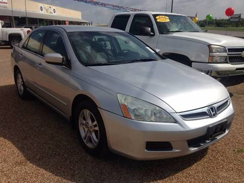 2007 Honda Accord for sale in Stephenville, TX