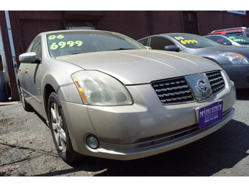 2006 Nissan Maxima For Sale At MICHAEL ANTHONY AUTO SALES In Plainfield NJ