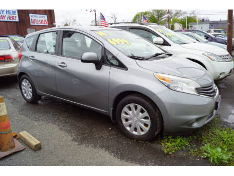 2014 Nissan Versa Note for sale at MICHAEL ANTHONY AUTO SALES in Plainfield NJ