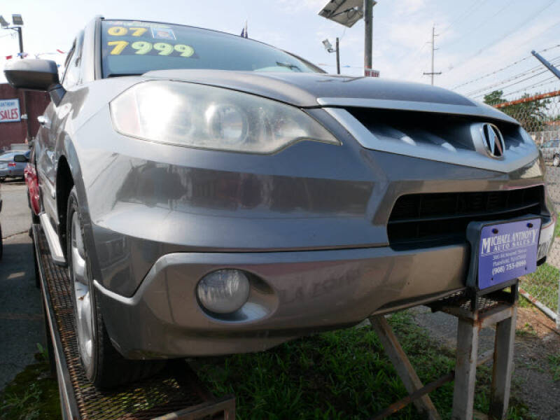 2007 Acura RDX for sale at MICHAEL ANTHONY AUTO SALES in Plainfield NJ
