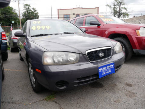 2002 Hyundai Elantra for sale at MICHAEL ANTHONY AUTO SALES in Plainfield NJ