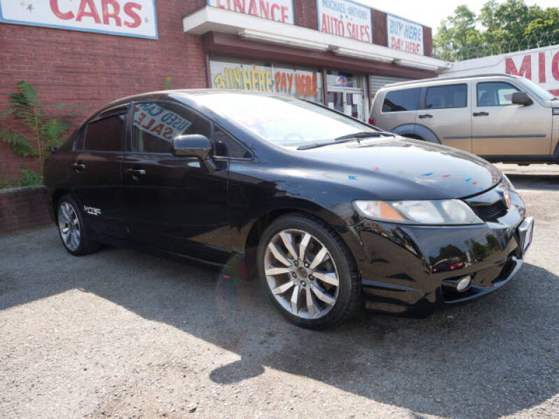 2009 Honda Civic for sale at MICHAEL ANTHONY AUTO SALES in Plainfield NJ