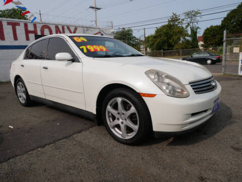 2004 Infiniti G35 for sale at MICHAEL ANTHONY AUTO SALES in Plainfield NJ