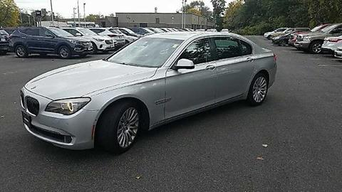 2010 BMW 7 Series for sale in East Windsor, CT