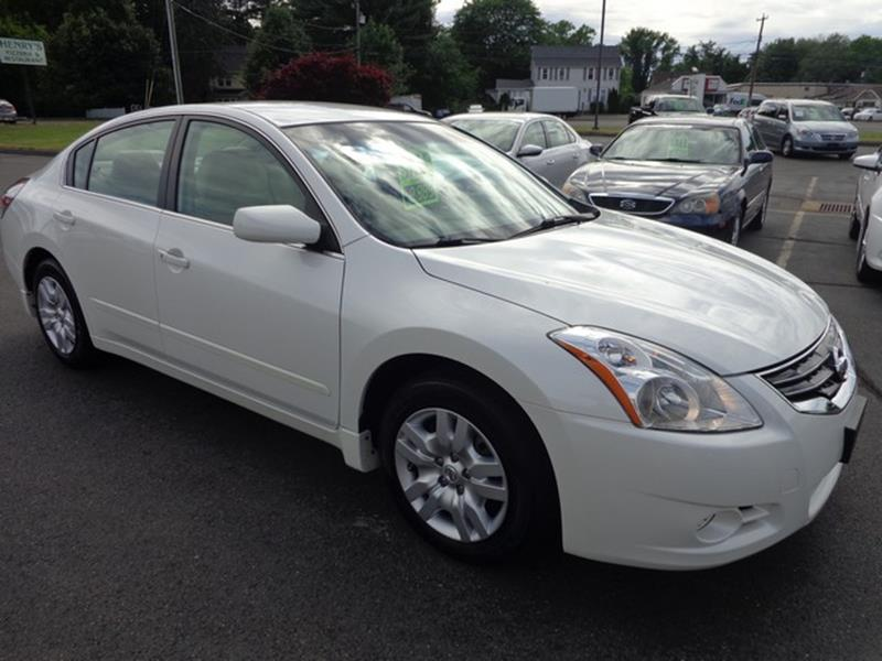 2012 Nissan Altima 25 S 4dr Sedan In East Windsor Ct Better Buys