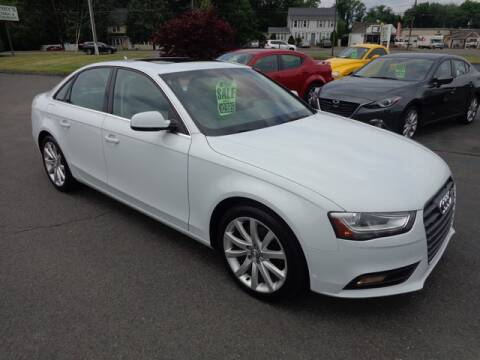 2013 Audi A4 for sale at BETTER BUYS AUTO INC in East Windsor CT