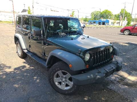 2010 Jeep Wrangler Unlimited for sale at BETTER BUYS AUTO INC in East Windsor CT