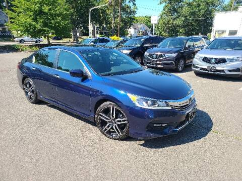 2017 Honda Accord for sale at BETTER BUYS AUTO INC in East Windsor CT