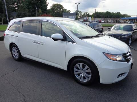 2017 Honda Odyssey for sale at BETTER BUYS AUTO INC in East Windsor CT