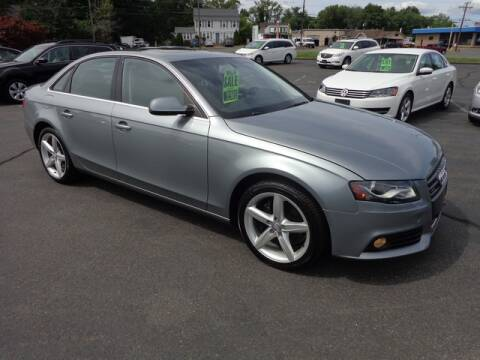 2011 Audi A4 for sale at BETTER BUYS AUTO INC in East Windsor CT