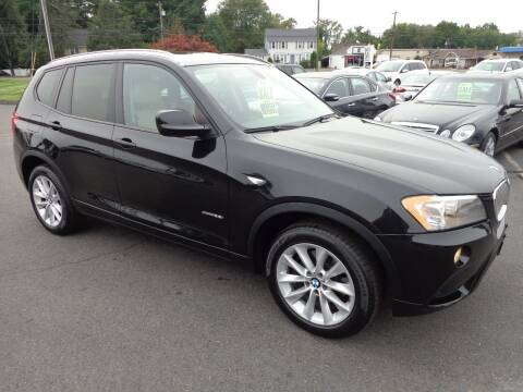 2013 BMW X3 for sale at BETTER BUYS AUTO INC in East Windsor CT