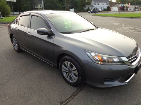 2015 Honda Accord for sale at BETTER BUYS AUTO INC in East Windsor CT