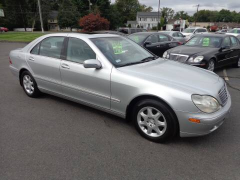 2000 Mercedes-Benz S-Class for sale at BETTER BUYS AUTO INC in East Windsor CT
