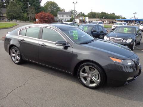 2014 Acura TL for sale at BETTER BUYS AUTO INC in East Windsor CT