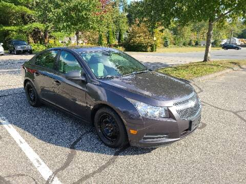 2014 Chevrolet Cruze for sale at BETTER BUYS AUTO INC in East Windsor CT