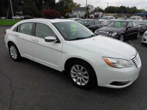 2013 Chrysler 200 for sale at BETTER BUYS AUTO INC in East Windsor CT