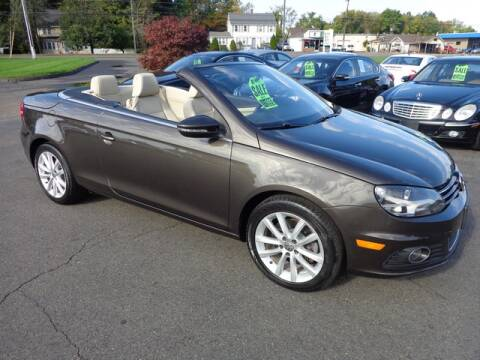 2012 Volkswagen Eos for sale at BETTER BUYS AUTO INC in East Windsor CT