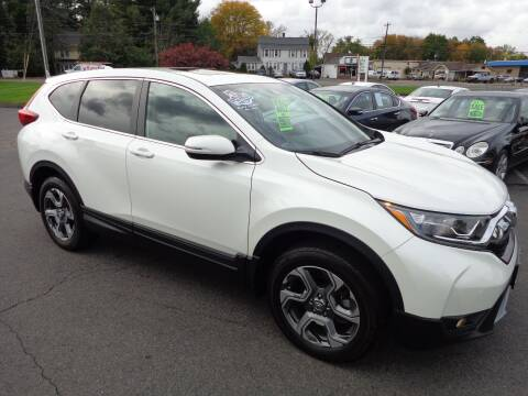2017 Honda CR-V for sale at BETTER BUYS AUTO INC in East Windsor CT