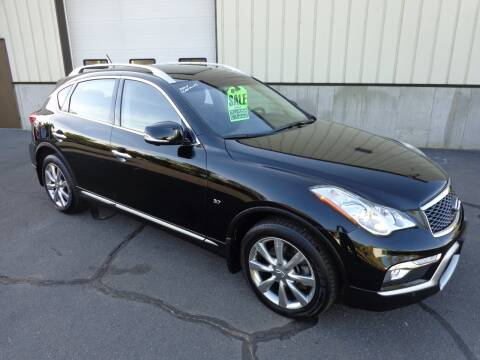 2017 Infiniti QX50 for sale at BETTER BUYS AUTO INC in East Windsor CT