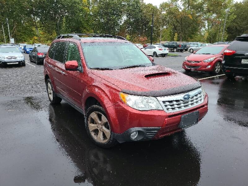 2013 Subaru Forester for sale at BETTER BUYS AUTO INC in East Windsor CT
