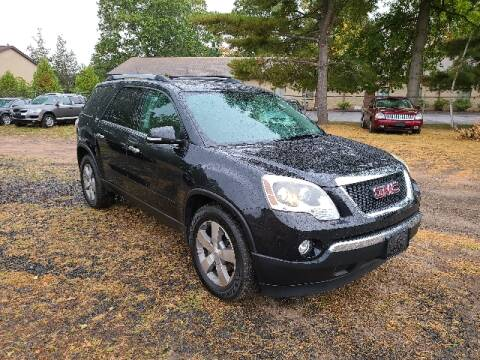 2012 GMC Acadia for sale at BETTER BUYS AUTO INC in East Windsor CT