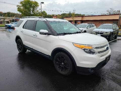 2012 Ford Explorer for sale at BETTER BUYS AUTO INC in East Windsor CT